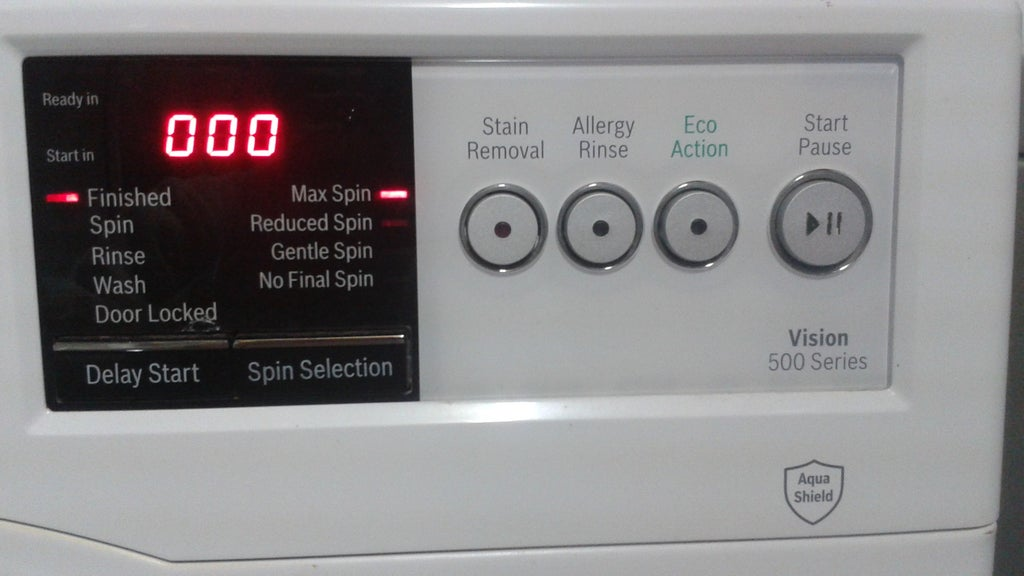 Bosch Washmaschine Fehlercode E17