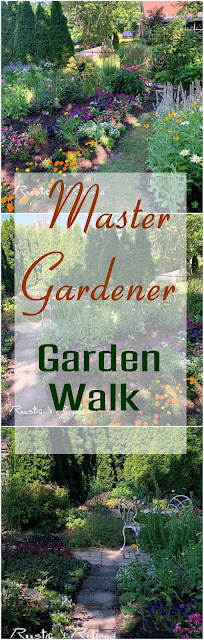 Lake County Indiana Master Gardener Garden Walk - House 4 Tour of gorgeous annuals, perennials and a porch!