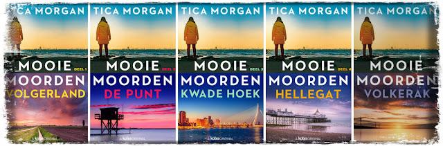 De Mooie Moorden serie van Tica Morgan, uitgegeven bij Gloude Publishing