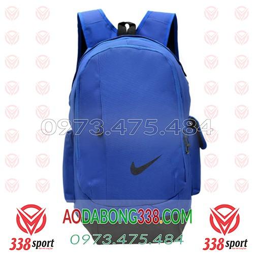 Balo Bóng Đá Giá Rẻ Nike Xanh Đậm