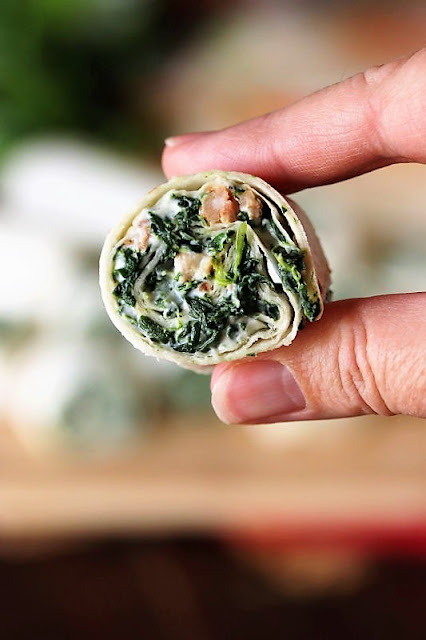Ranch Spinach Roll-Ups with Bacon Image