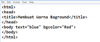 4 Tips Cara Memberi Warna Background di HTML