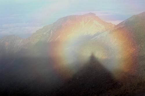 The most rare and beautiful natural phenomena 3. Brocken's ghost