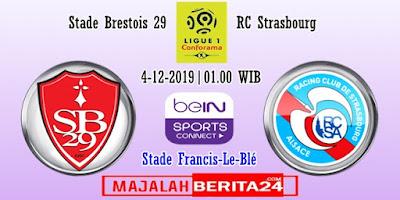 Prediksi Brest vs Strasbourg — 4 Desember 2019