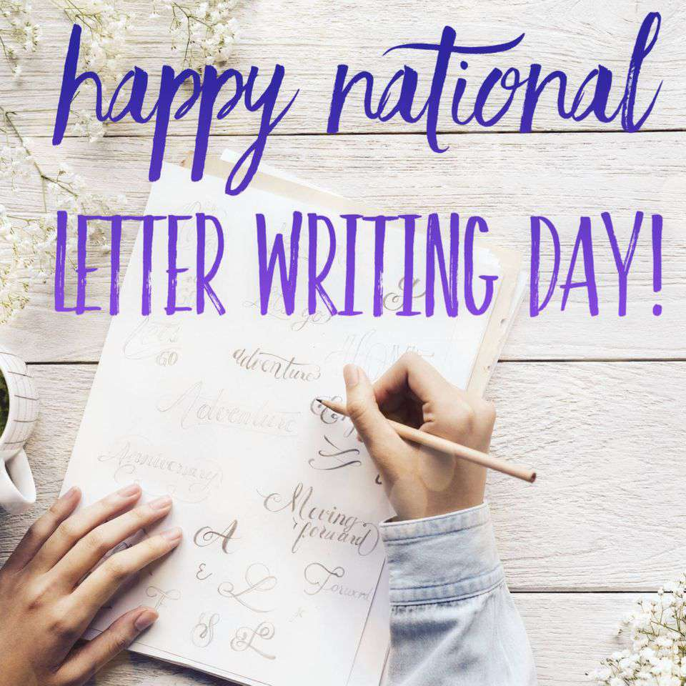 National Letter Writing Day Wishes Unique Image