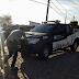 Descaso. Políciais Civis empurram viatura em Limoeiro do Norte/CE