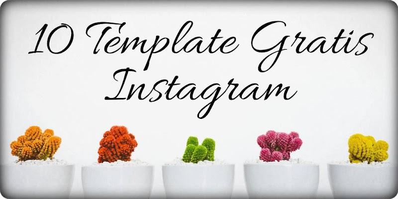 10 Template Gratis Instagram