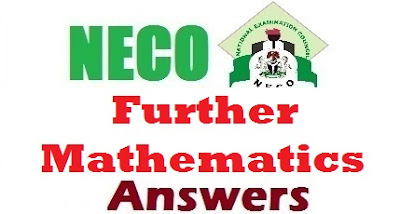 2017 NECO Further Maths (OBJ Essay Theory Questions and Answers)