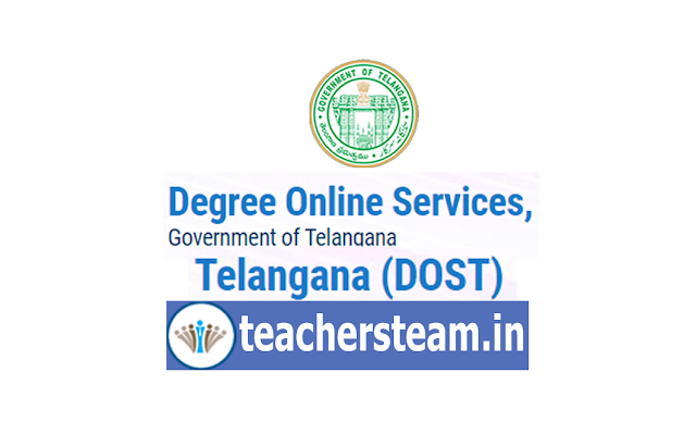 Degree Admissions through DOST Degree Online Services Telangana