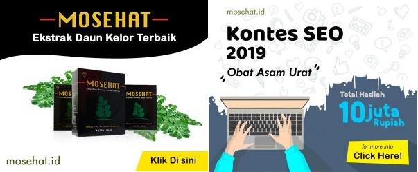 Kontes SEO Blog Mosehat 2020 Berhadiah Jutaan Rupiah