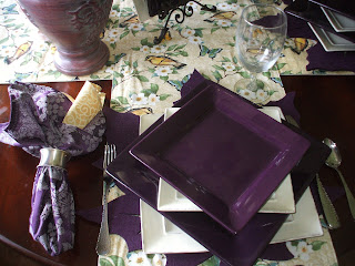 Purple Lovers Anonymous Group Table
