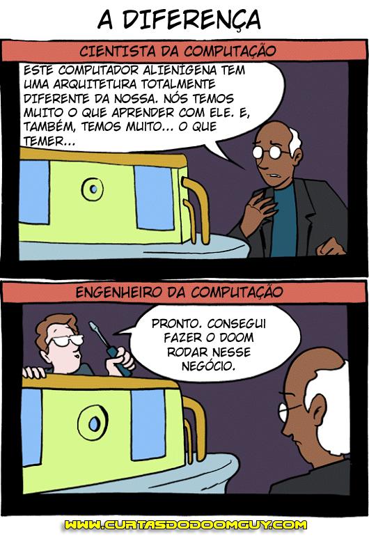 Cientista da Computação x Engenheiro da Computação