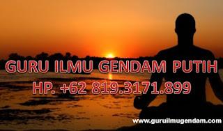 IJAZAH GURU BESAR GENDAM PUTIH HP. +62 819.3171.8989