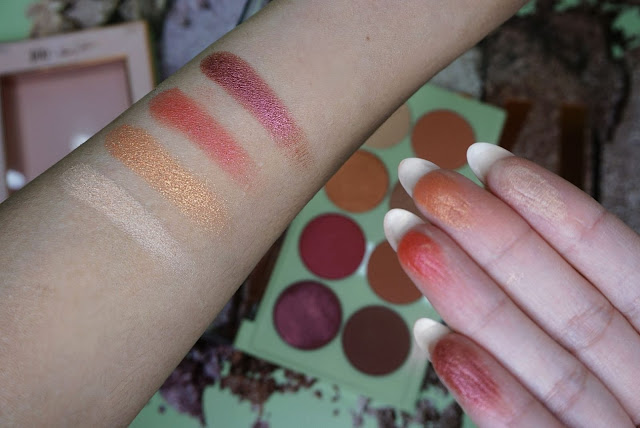 The Eye Heart Palette Pixi collaboration with All of Heart review and swatches