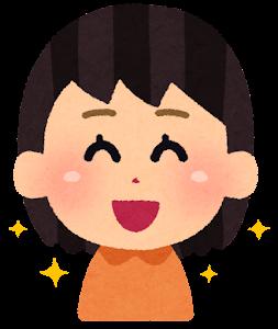 口の周りが綺麗な子供のイラスト(女の子)