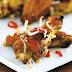 Baked Garlic Chilli Wings - Asian Recipes
