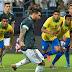 Messi marca, e Brasil perde para a Argentina, na pior sequência de resultados desde 2012