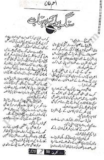 Sung Piya Ke Rehna Hai Novel By Anam Khan Pdf Free Download