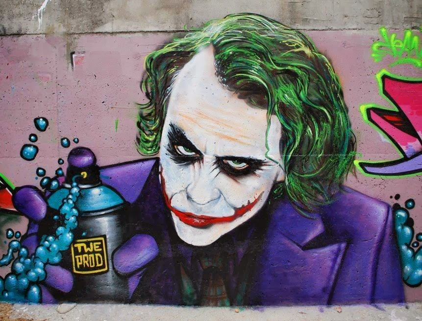Graffiti The Joker