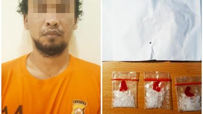 Polsek Panongan Ringkus Pria Diduga Pengedar Narkoba
