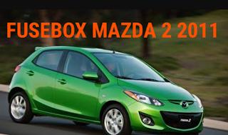 fusebox MAZDA 2 2011