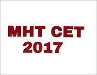 MHT CET 2017