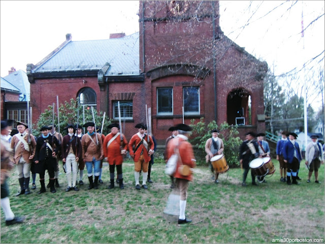 Eventos por Patriots Day: Alarm & Muster of the Lincoln Minute Men