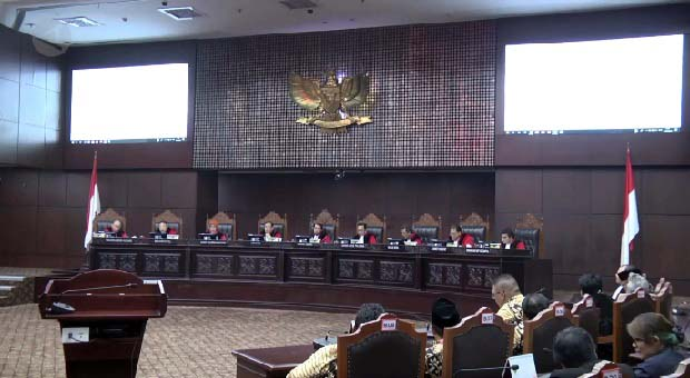 Sidang Pileg, Hakim Sebut Dokumen Jadi Pertimbangan Utama MK