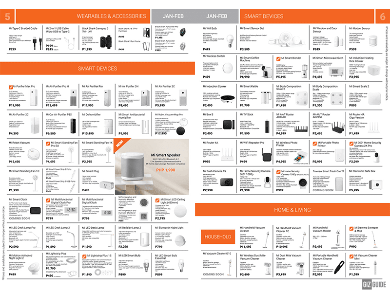 Brochure pages 5-6