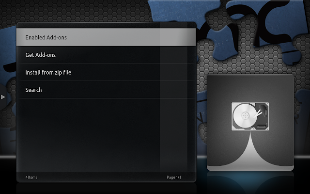 XBMC 11 Screenshot