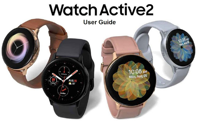 Samsung Galaxy Watch Active 2 User Guide and Manual pdf intructions