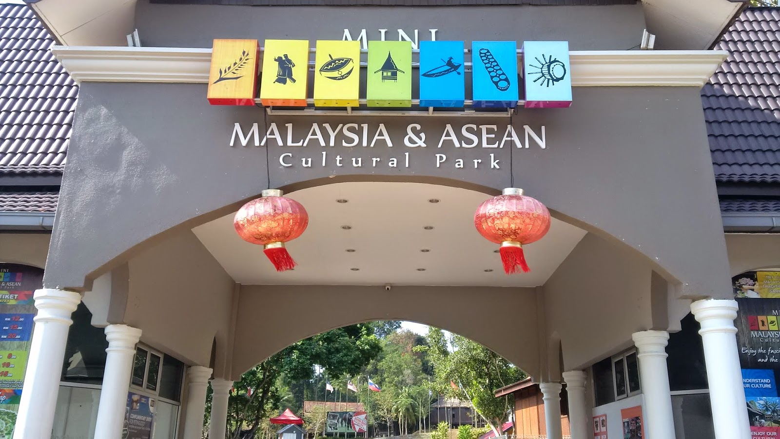 mini malaysia & asean cultural park melaka, traditional architecture, traditional house style, traditional malaysia houses, wood houses, travel, tourism