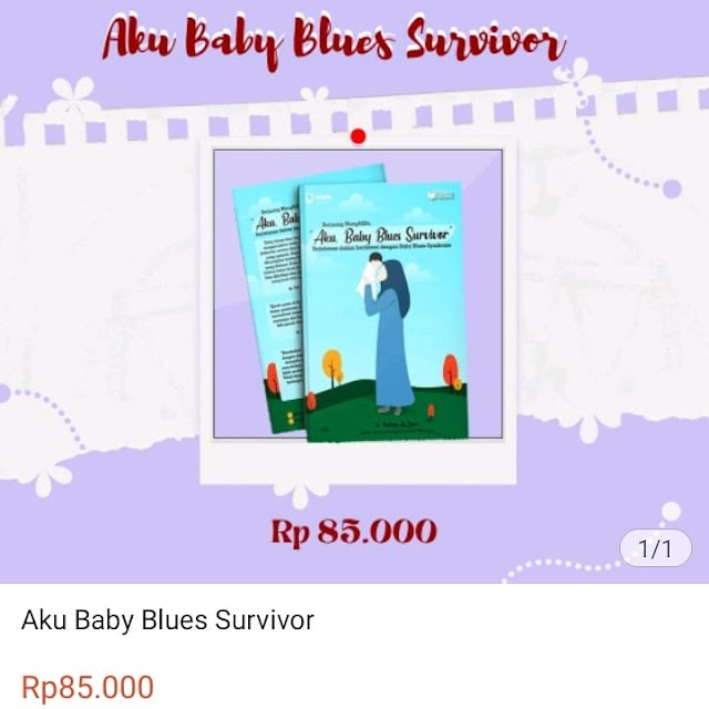 "Auto Donasi Setiap Pembelian Buku Berjuang MengASIhi ""Aku, Baby Blues Survivor"""