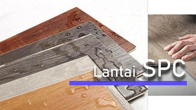 Lantai kayu sintetis Tipe 4 SPC Flooring