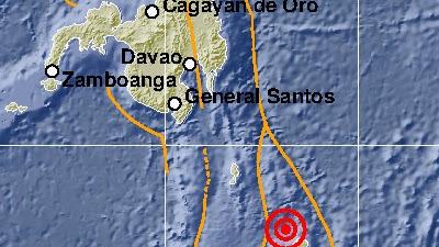 Gempabumi Tektonik M7,1 di Laut Filipina Tidak Berpotensi Tsunami