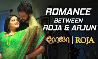Romance between Roja & Arjun | Vaseegara Song Making