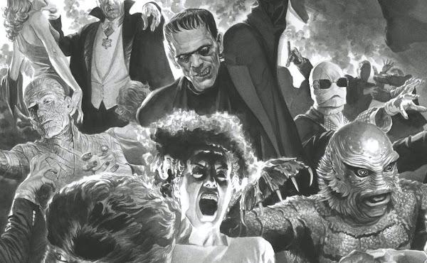 Os clássicos monstros da Universal