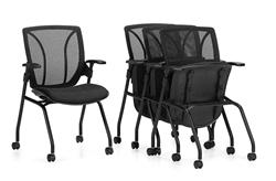Flip Seat Nesting Chairs