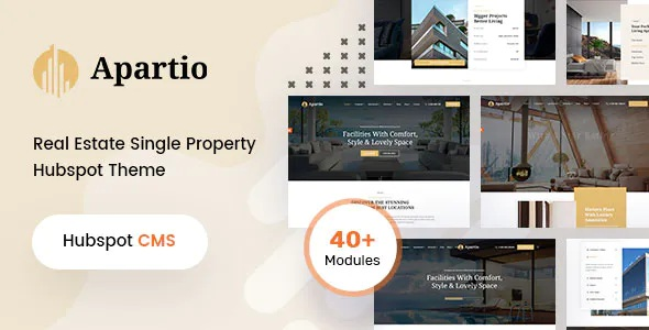 Best Single Property HubSpot Theme