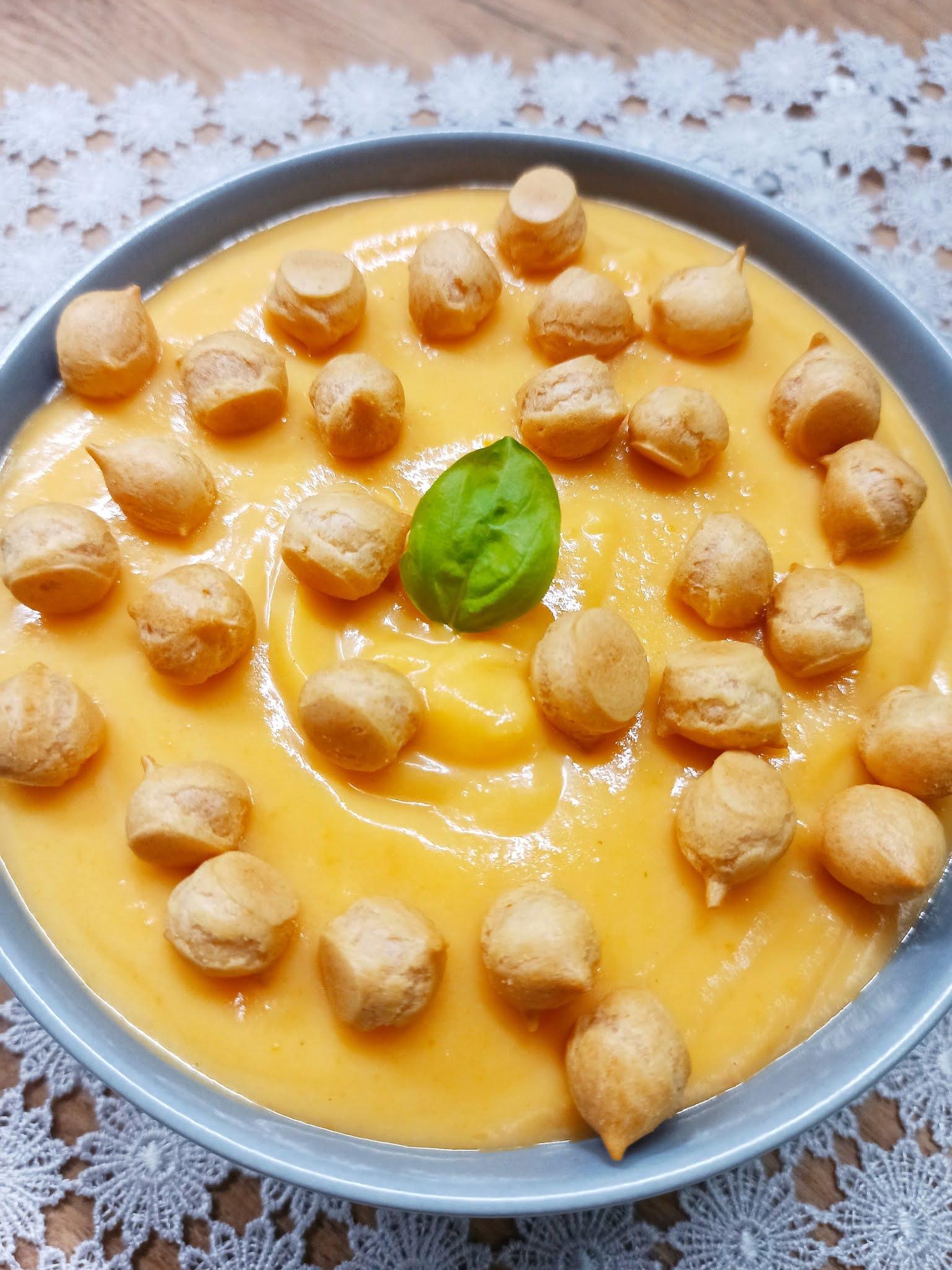Zupa krem marchewkowo-ziemniaczany