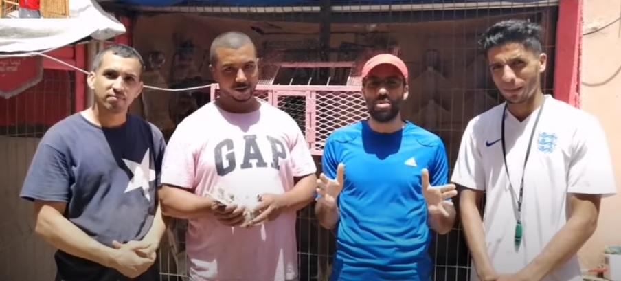 فيديو اول اعلان في سباق طنجة الوطني الطانديم زرهوني - عاشير من تنظيم محل الشاوية من انجاز كريم اجلاني