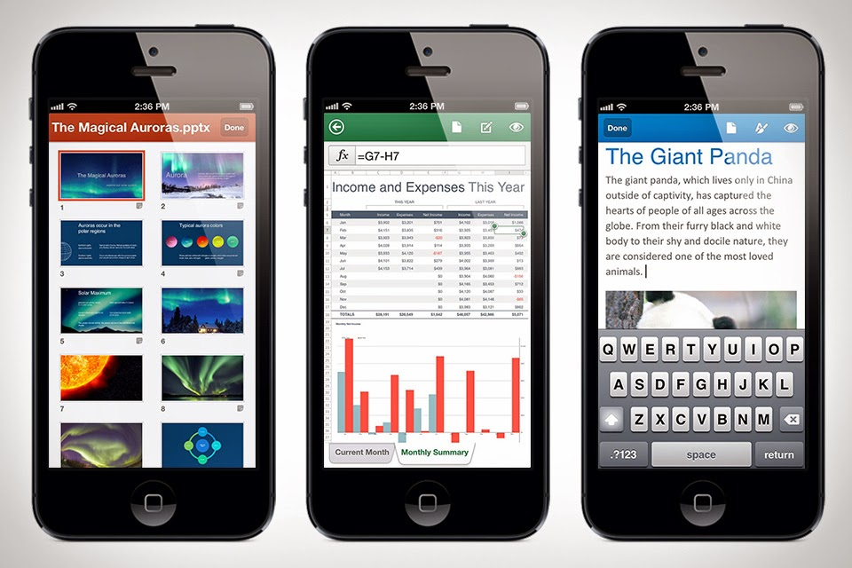 OFFICE MOBILE GRATIS PARA IPHONE