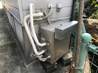 プロパンガス:給湯器とビルトインコンロの取替