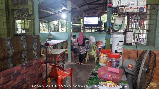 Laksa Deris Telur Goreng dan Lempeng Pisang sedap di Kuala Kangsar