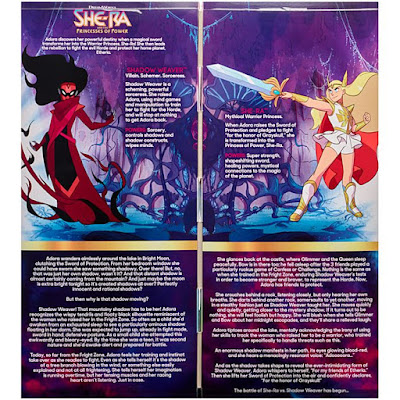 San Diego Comic-Con 2019 Exclusive She-Ra and the Princesses of Power She-Ra vs Shadow Weaver Doll 2 Pack by Mattel