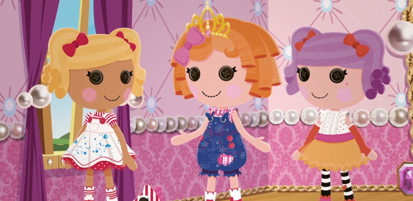 Lalaloopsy the lost princess movie episode 1 : Fat families