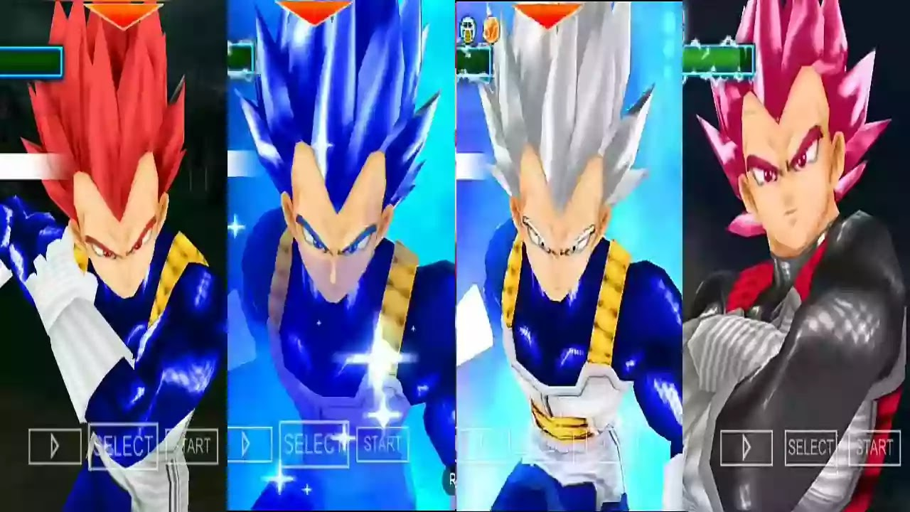Vegeta all forms HD