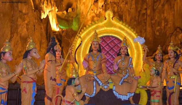 Ramayana Caves Batu Caves Malaysia