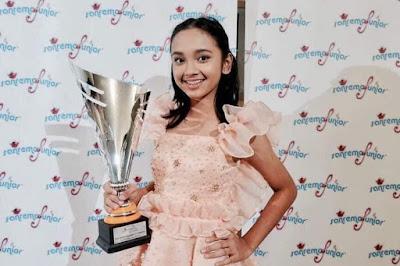 Profil dan Biodata Lengkap Lyodra Ginting peserta Inonesian Idol 2019