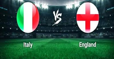 مباراة ايطاليا وانجلترا بث مباشر